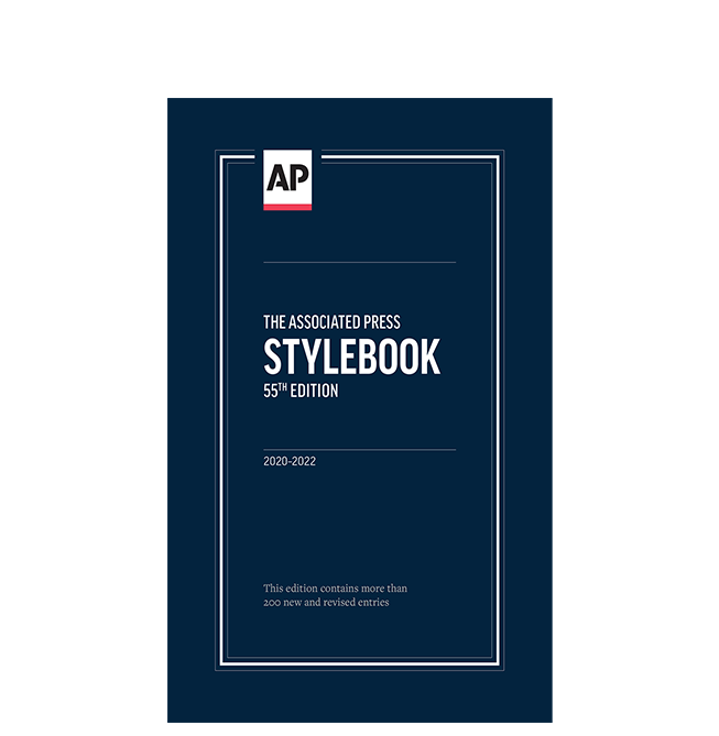 AP Stylebook, 55th Edition
