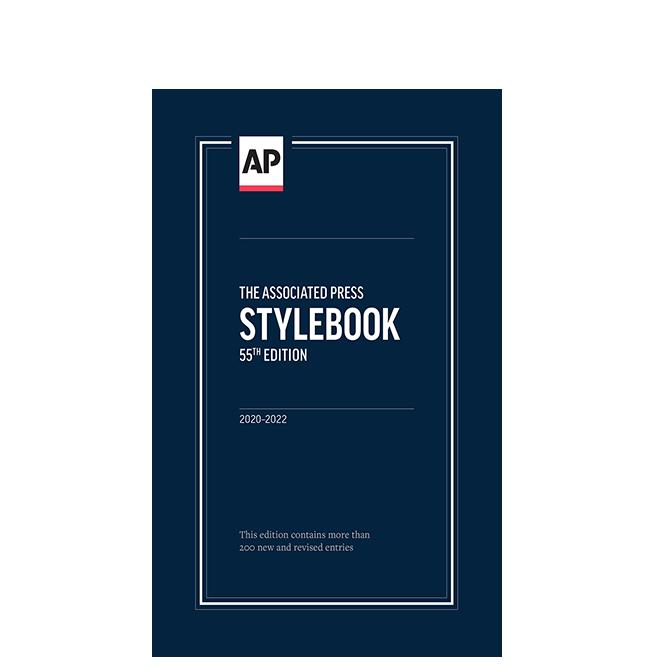AP Stylebook, 55th Edition